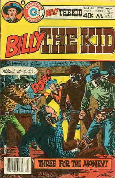 Cover for Billy the Kid (Charlton, 1957 series) #133