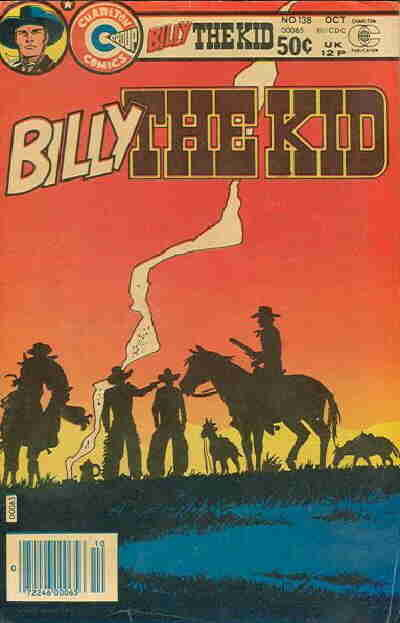 Cover for Billy the Kid (Charlton, 1957 series) #138