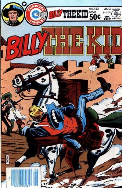 Cover for Billy the Kid (Charlton, 1957 series) #143