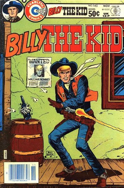 Cover for Billy the Kid (Charlton, 1957 series) #145
