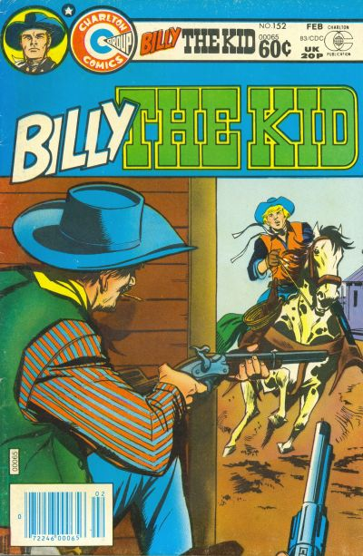 Cover for Billy the Kid (Charlton, 1957 series) #152