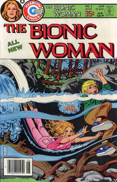 Cover for Bionic Woman (Charlton, 1977 series) #5