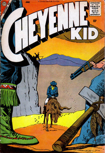 Cover for Cheyenne Kid (Charlton, 1957 series) #12