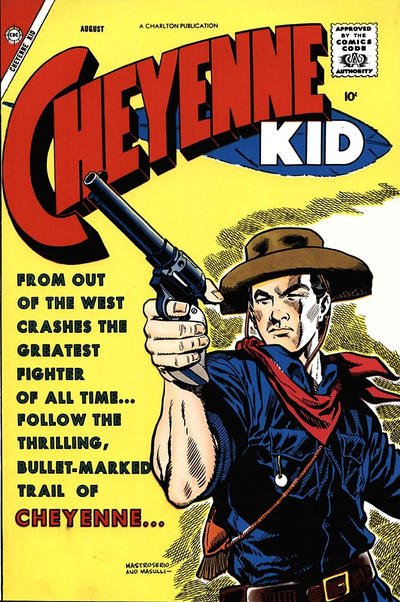 Cover for Cheyenne Kid (Charlton, 1957 series) #13