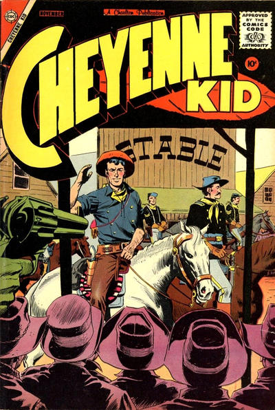 Cover for Cheyenne Kid (Charlton, 1957 series) #14