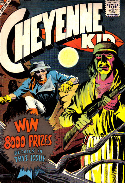 Cover for Cheyenne Kid (Charlton, 1957 series) #16
