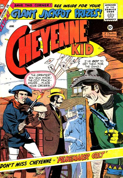 Cover for Cheyenne Kid (Charlton, 1957 series) #17
