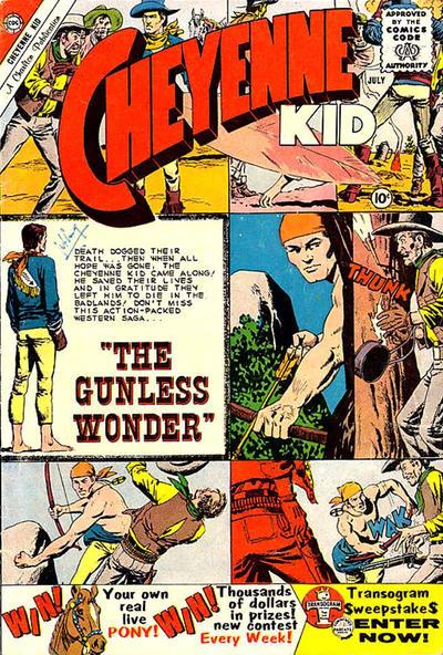 Cover for Cheyenne Kid (Charlton, 1957 series) #23