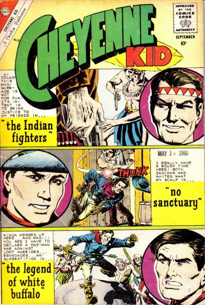 Cover for Cheyenne Kid (Charlton, 1957 series) #24