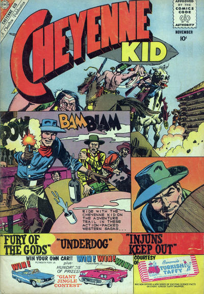 Cover for Cheyenne Kid (Charlton, 1957 series) #25