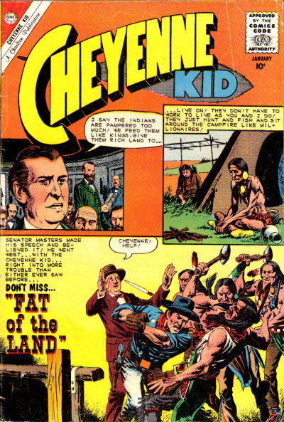 Cover for Cheyenne Kid (Charlton, 1957 series) #26
