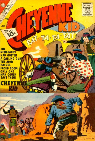Cover for Cheyenne Kid (Charlton, 1957 series) #29
