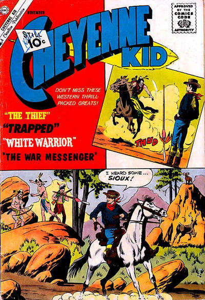 Cover for Cheyenne Kid (Charlton, 1957 series) #31
