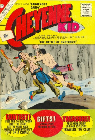 Cover for Cheyenne Kid (Charlton, 1957 series) #32