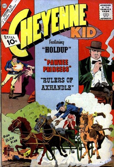 Cover for Cheyenne Kid (Charlton, 1957 series) #33
