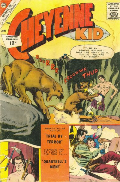 Cover for Cheyenne Kid (Charlton, 1957 series) #34