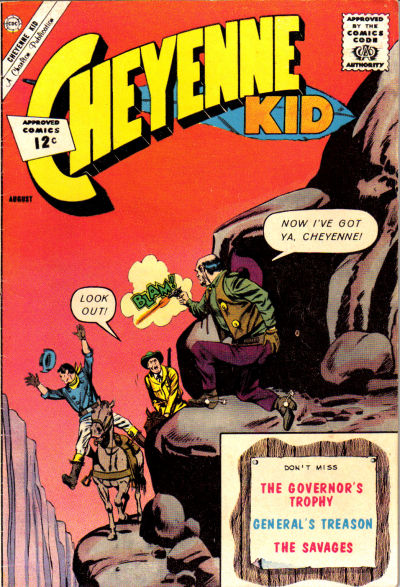 Cover for Cheyenne Kid (Charlton, 1957 series) #35