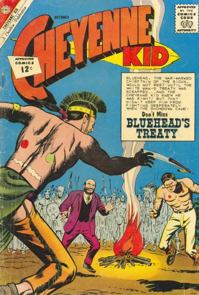 Cover for Cheyenne Kid (Charlton, 1957 series) #36