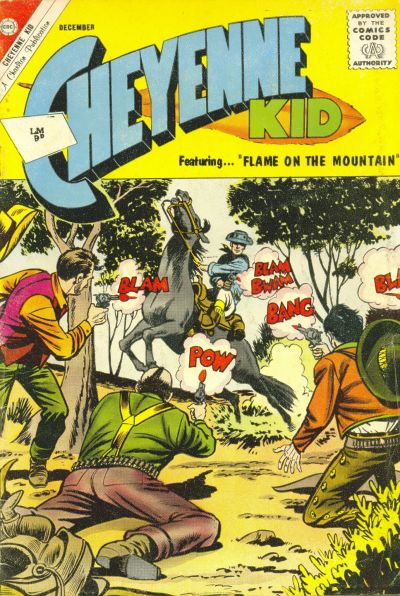 Cover for Cheyenne Kid (Charlton, 1957 series) #37