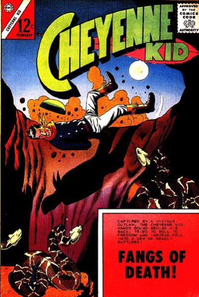 Cover for Cheyenne Kid (Charlton, 1957 series) #38