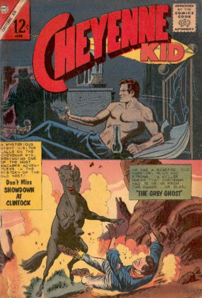 Cover for Cheyenne Kid (Charlton, 1957 series) #40