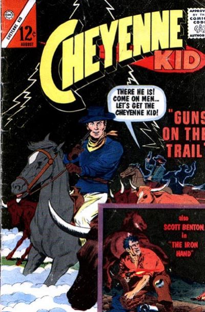 Cover for Cheyenne Kid (Charlton, 1957 series) #41
