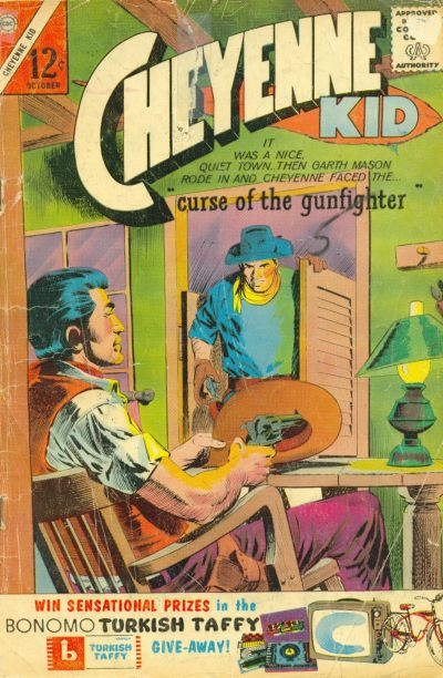 Cover for Cheyenne Kid (Charlton, 1957 series) #42