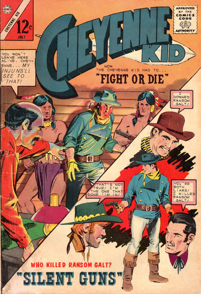 Cover for Cheyenne Kid (Charlton, 1957 series) #46