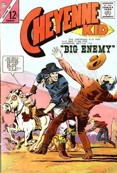 Cover for Cheyenne Kid (Charlton, 1957 series) #49