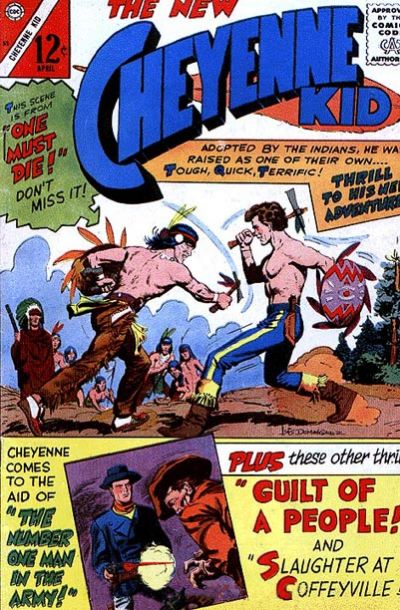 Cover for Cheyenne Kid (Charlton, 1957 series) #55