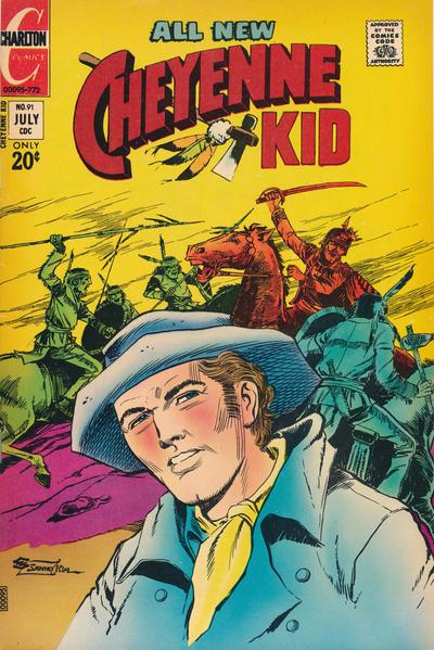 Cover for Cheyenne Kid (Charlton, 1957 series) #91