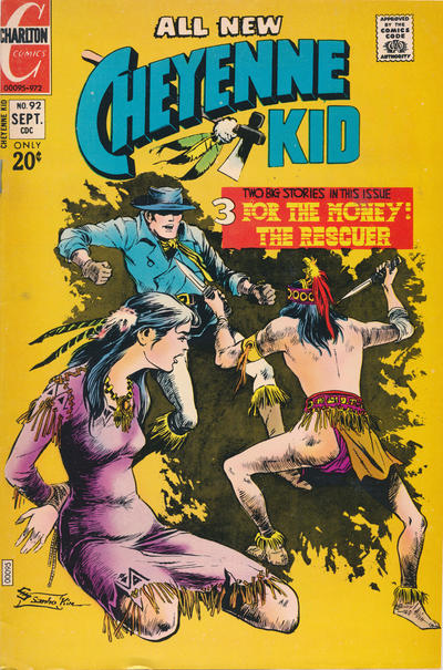 Cover for Cheyenne Kid (Charlton, 1957 series) #92
