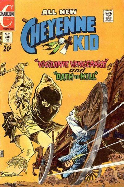 Cover for Cheyenne Kid (Charlton, 1957 series) #94