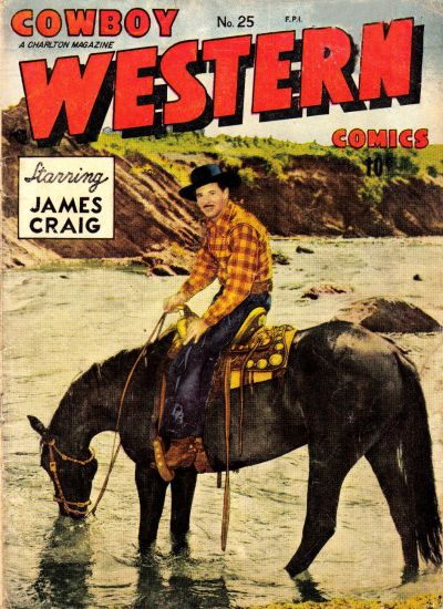Cover for Cowboy Western Comics (Charlton, 1948 series) #25