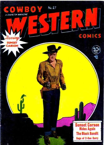 Cover for Cowboy Western Comics (Charlton, 1948 series) #27