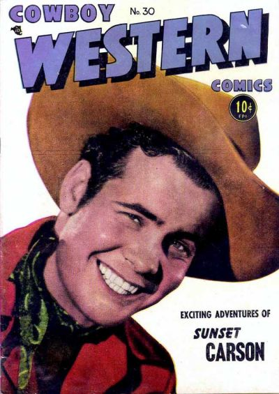 Cover for Cowboy Western Comics (Charlton, 1948 series) #30