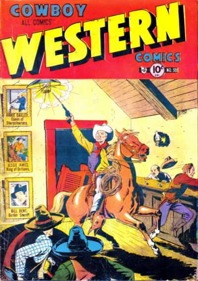 Cover for Cowboy Western Comics (Charlton, 1948 series) #38