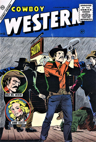 Cover for Cowboy Western (Charlton, 1954 series) #56