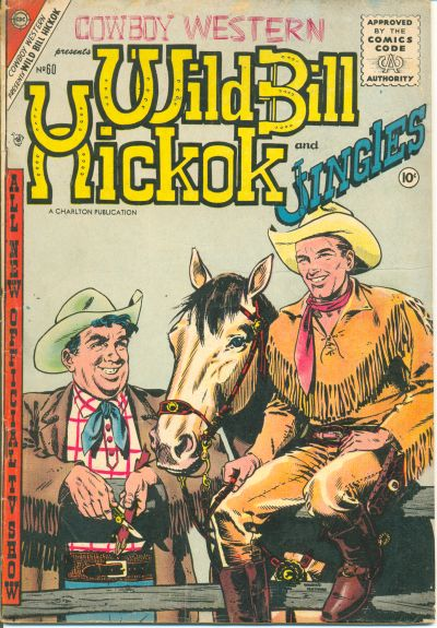 Cover for Cowboy Western (Charlton, 1954 series) #60
