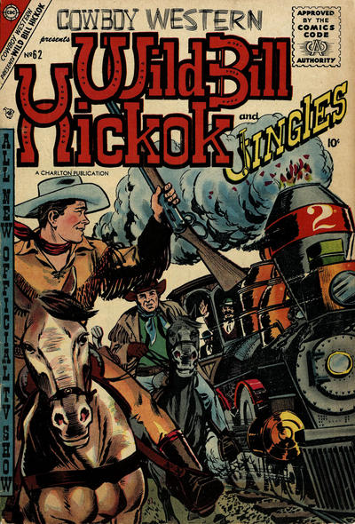 Cover for Cowboy Western (Charlton, 1954 series) #62