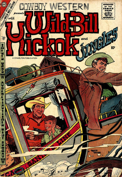 Cover for Cowboy Western (Charlton, 1954 series) #64