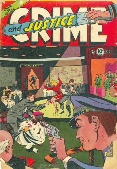Cover for Crime and Justice (Charlton, 1951 series) #6