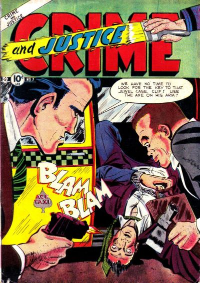 Cover for Crime and Justice (Charlton, 1951 series) #7