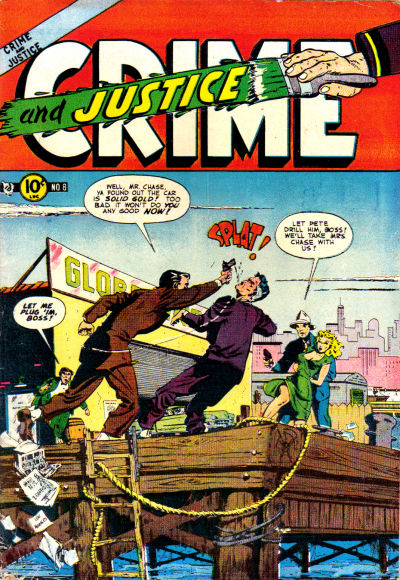 Cover for Crime and Justice (Charlton, 1951 series) #8