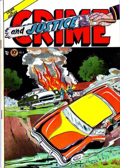 Cover for Crime and Justice (Charlton, 1951 series) #9