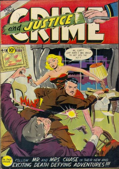 Cover for Crime and Justice (Charlton, 1951 series) #10