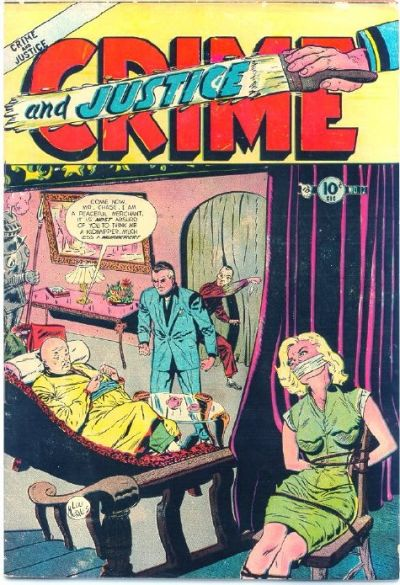 Cover for Crime and Justice (Charlton, 1951 series) #12