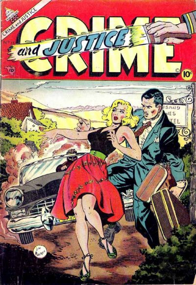 Cover for Crime and Justice (Charlton, 1951 series) #15