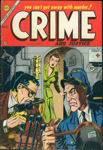 Cover for Crime and Justice (Charlton, 1951 series) #17