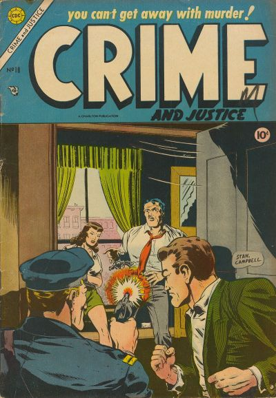 Cover for Crime and Justice (Charlton, 1951 series) #18